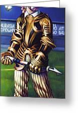 Major League Gladiator Greeting Card