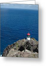 Makapu'u Lighthouse Greeting Card