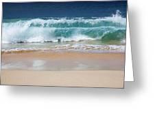 Makena Waves Greeting Card