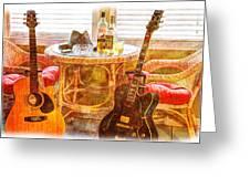 Making Music 003 Greeting Card