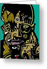 Malcolm X Full Color Greeting Card