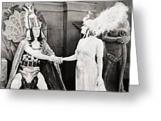 Male And Female, 1919 Greeting Card