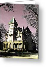 Mallory-neely Victorian Village Memphis Greeting Card
