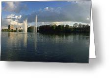 Malmoe Fountains Greeting Card