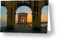 Maltese Sunrise Greeting Card
