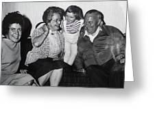 Mama Chris Mormor Colette Og Fufar Greeting Card