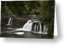 Manabezho Falls 1 Greeting Card