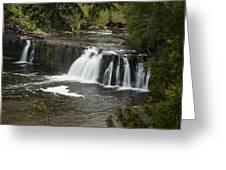 Manabezho Falls 2 Greeting Card
