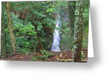 Manakiki Falls Greeting Card