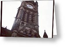 Manchester's Beautiful Town Hall Greeting Card by Chris Jones