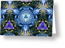 Mandala Animal Wisdom Greeting Card