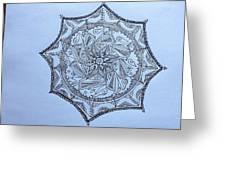 Mandalas Greeting Card