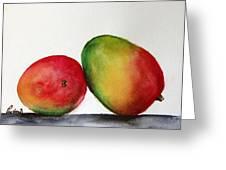 Mangos Greeting Card by Prashant Shah