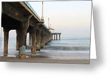 Manhattan Beach Pier Greeting Card