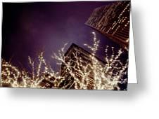 Manhattan Lights Greeting Card