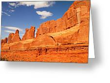 Manhatten In Utah Greeting Card