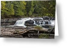 Manido Falls 1 Greeting Card