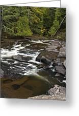 Manido Falls 6 Greeting Card