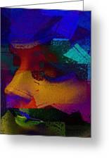 Manikin Art Greeting Card by David Taylor