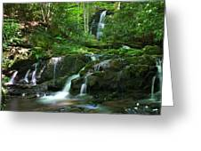 Mannis Branch Falls Greeting Card
