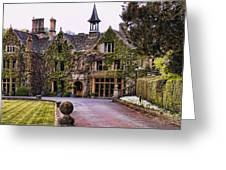 Manor House At Castle Combe  Greeting Card