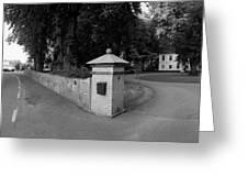 Manor House Hueganas Greeting Card