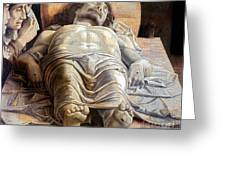 Mantegna: The Dead Christ Greeting Card
