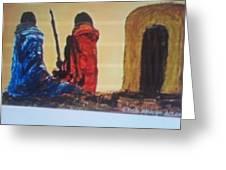 Manyatta Greeting Card