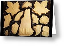 Maple Sugar Candies Greeting Card