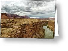 Marble Canyon Overlook Greeting Card
