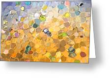 Marble Collection I Abstract Greeting Card
