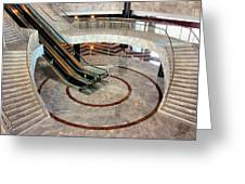 Marble Staircases Greeting Card