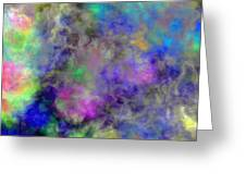 Marbled Clouds Greeting Card