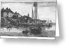 Marblehead: Fishing Boats Greeting Card