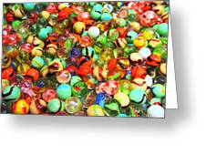 Marbles - Painterly Greeting Card