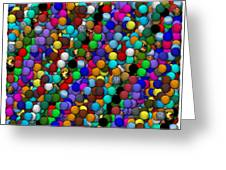 Marbles..or...gumballs Greeting Card