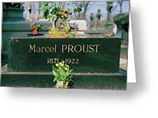Proust Greeting Card