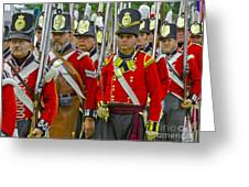 March Off Greeting Card