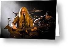 Marco Hietala And Jukka Nevalainen - Nightwish  Greeting Card