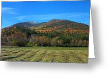 Marcy Field Autumn View Greeting Card