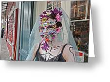 Mardi Gras Voodoo In New Orleans Greeting Card by Louis Maistros