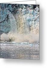 Margerie Glacier Calving Greeting Card