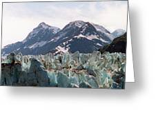 Margerie Glacier View Greeting Card