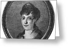 Maria Bonaparte (1750-1836) Greeting Card
