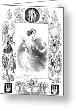 Marie Taglioni (1804-1884) Greeting Card