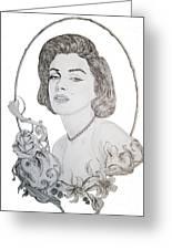 Marilyn 2 Greeting Card
