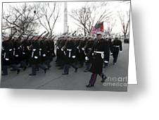 Marines Participate In The 2009 Greeting Card