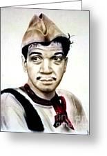 Mario Moreno As Cantinflas In El Bombero Atomico  Greeting Card