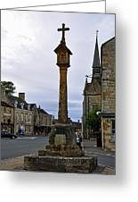 Market Cross - Stow-on-the-wold Greeting Card