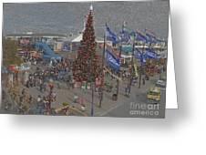 Marketing Tree Greeting Card